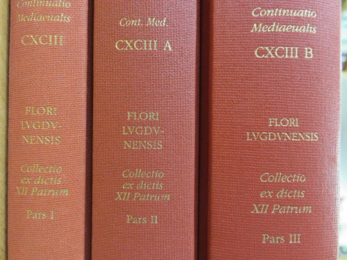Les trois tomes de l'édition Fransen